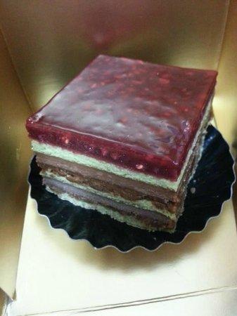 La Grande Epicerie de Paris: my cake