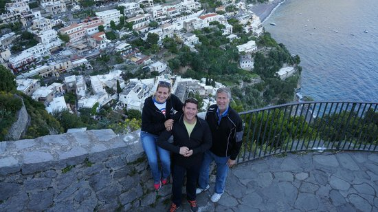 Sorrento Silver Star Tours: Final photo spot on our drive overlooking all of Positano.