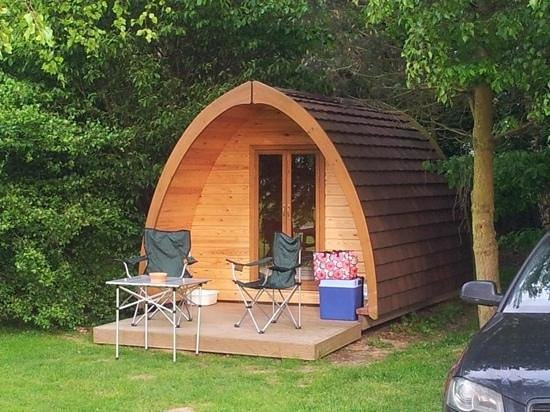 Townsend Touring Park : Another view of the pod...small & perfectly formed!