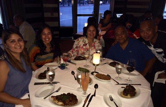 Ruth's Chris Steak House : Family dinner...