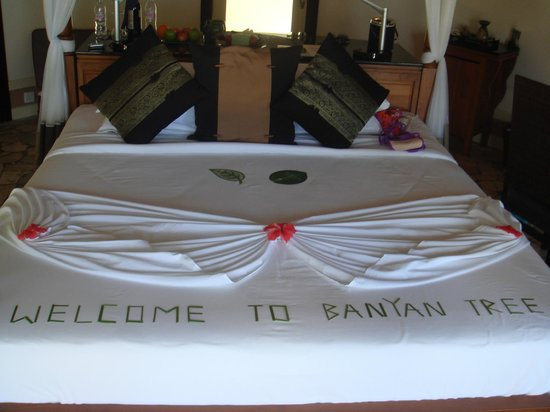 Banyan Tree Vabbinfaru: cama