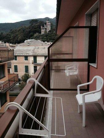Hotel Corallo: balcone