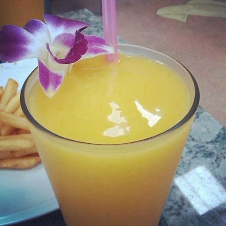 Mango Smoothie at CC's Hideaway
