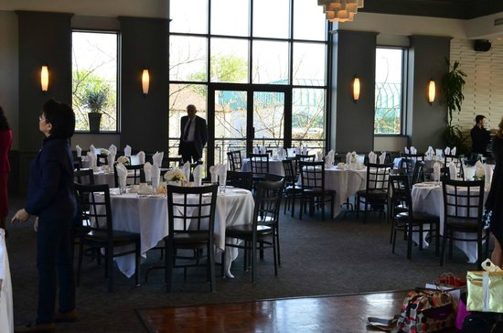 Whistler's Grille & the McNeil Room: The set up is great!