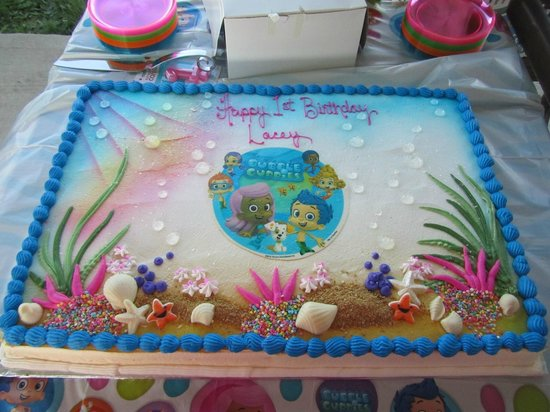 Surprising Bubble Guppies Cake Picture Of Mcarthurs Bakery Cafe Saint Birthday Cards Printable Trancafe Filternl