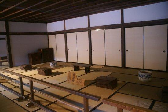 Takayama Jinya : interior view
