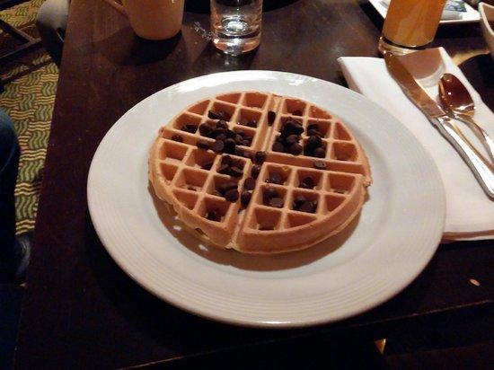 Bethesda Marriott: Colazione waffel