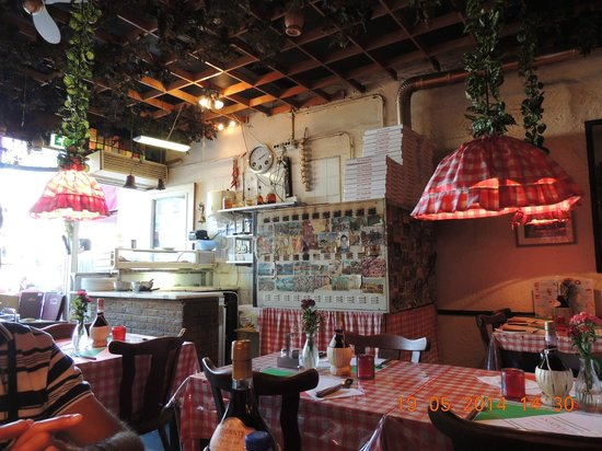 Simple pizzeria napoli interior da pizzaria with interior - Interior designer napoli ...