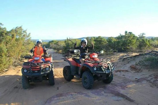 Kalbarri Quadbike Safaris: We had a great time!