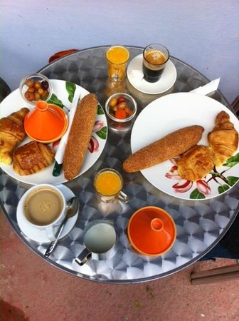 Dar Omar Khayam: ontbijt