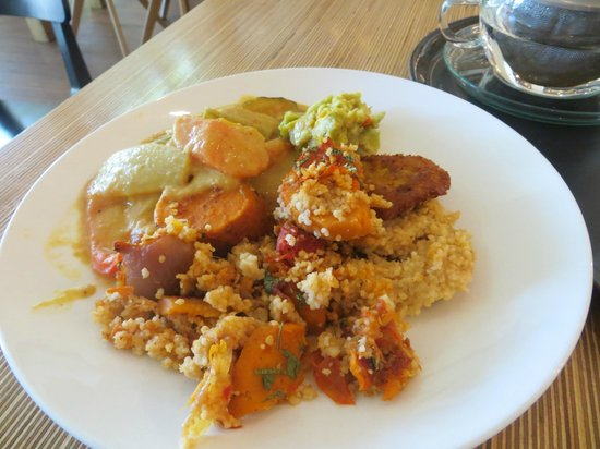 Spirit Rotterdam: A plate full of food