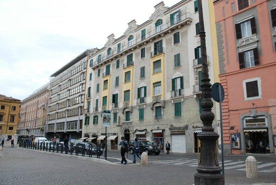 Hotel Dorica : Außenansicht