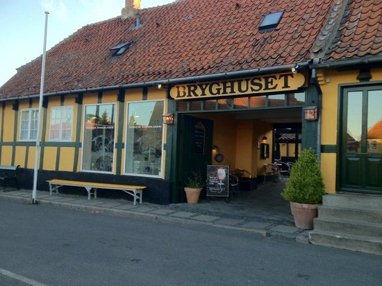 Svaneke Bryghus: Bryghuset