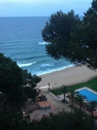 Hotel Santa Marta : desde el balcon de nuestra habitacion
