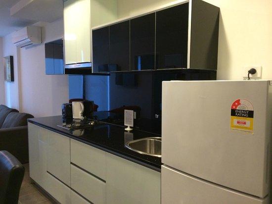 Pegasus Apart'Hotel: kitchenette