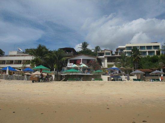 Pousada da Praia: desde la playa