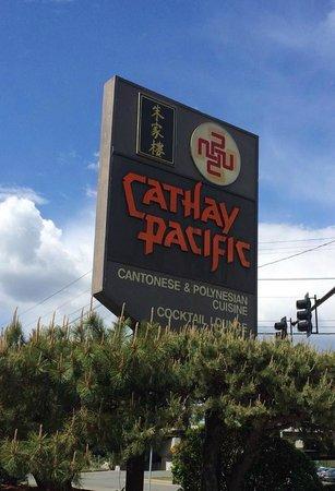 Cathay Pacific Restaurant Quincy Menu