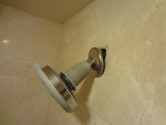 Marco Beach Ocean Resort: Broken Shower head