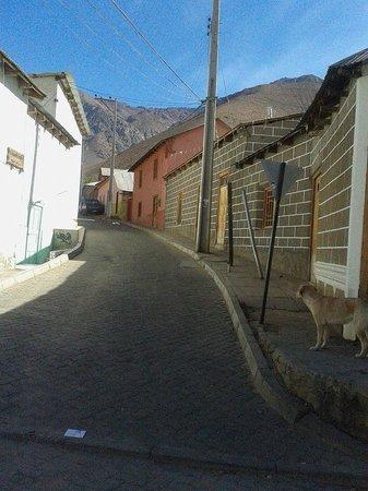 Valle del Elqui: Calle de Pisco Elqui