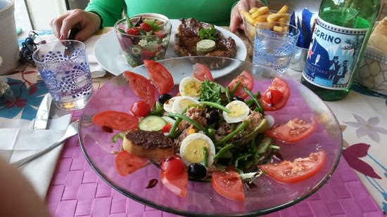 Hotel Cap Riviera: insalata nizzarda