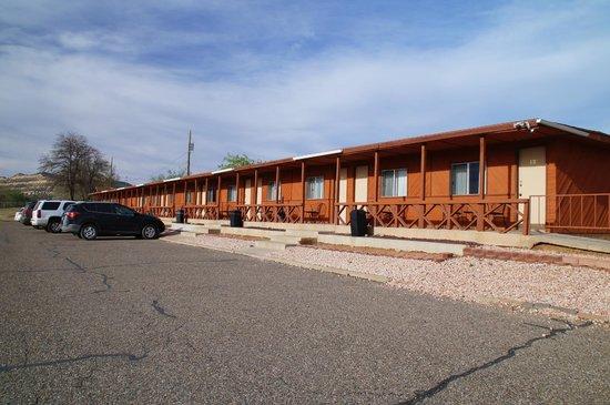 Circle D Motel : Aussenansicht