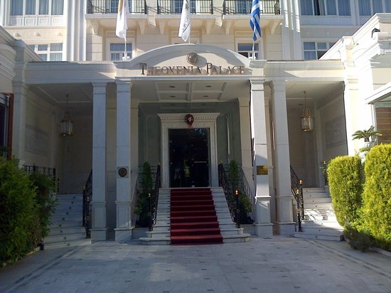 Theoxenia Palace Hotel : The entrance