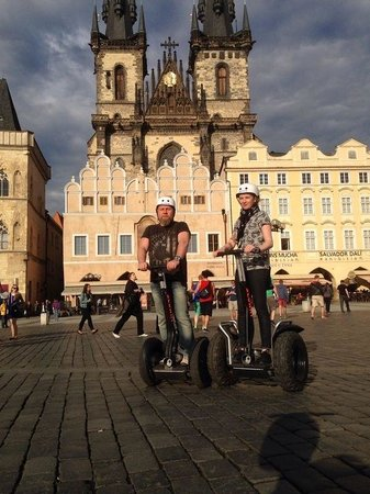 Segway Rent Prague: Мы