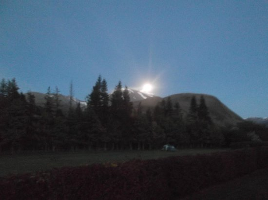 Lochy Holiday Park: night view