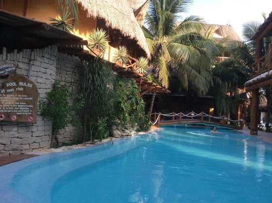 Holbox Hotel Casa las Tortugas - Petit Beach Hotel & Spa : The pool area