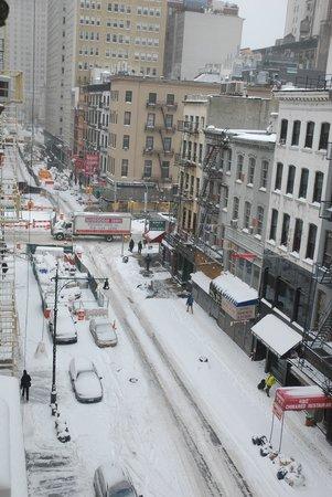 Cosmopolitan Hotel - Tribeca : Blick zur Straße