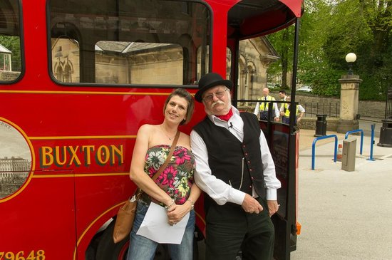 Discover Buxton Tours: our lovely guide and tram driver
