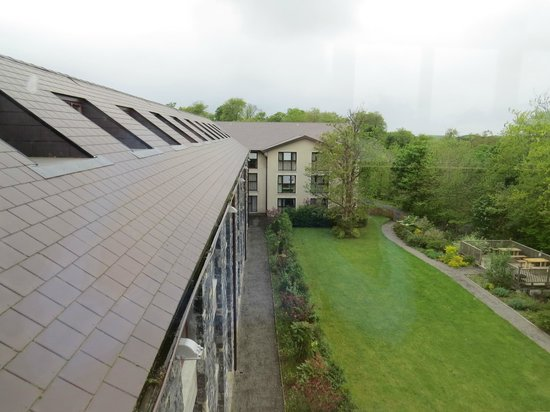 Westport Woods Hotel: view from window