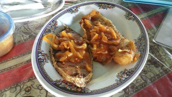 Plaza Bieu: grouper and fish steak