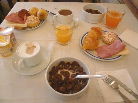 Hotel Borges Chiado: завтрак:)
