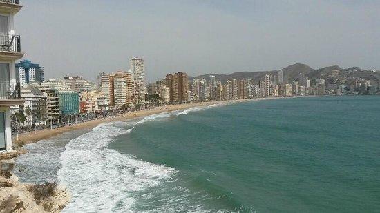 Melia Benidorm: Benidorm beach area