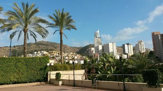 Melia Benidorm: View from the hotel terrace