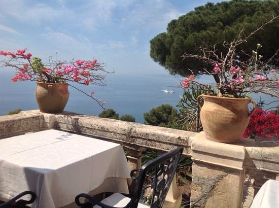 Bel Soggiorno : view fron the breakfast terrace May 2014