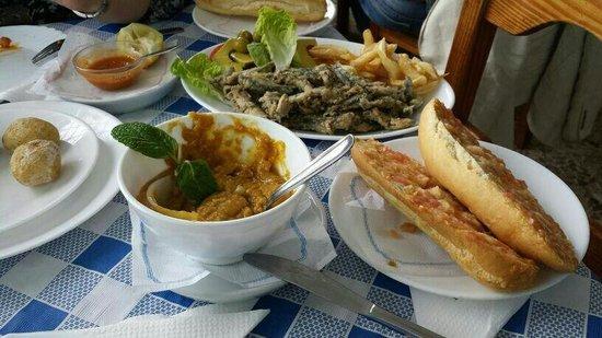 Restaurante El Paso: Gofio escaldado