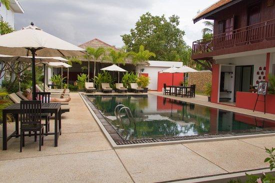 Suorkear Boutique Hotel & Spa: La piscine vue de notre chambre