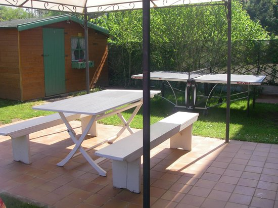 tavolo esterno e da ping pong