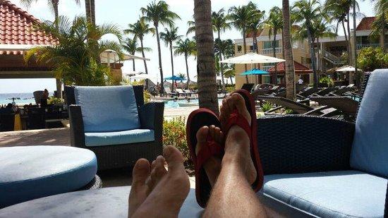 Curacao Marriott Beach Resort & Emerald Casino: area de lazer