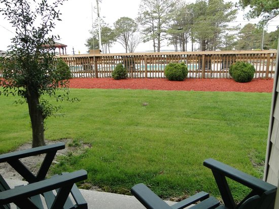 BEST WESTERN Chincoteague Island: View from room patio
