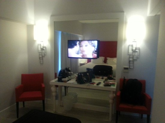 Lutecia Smart Design Hotel : Balcão