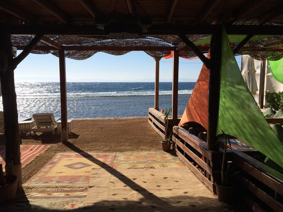 Acacia Dahab Hotel : Breakfast view