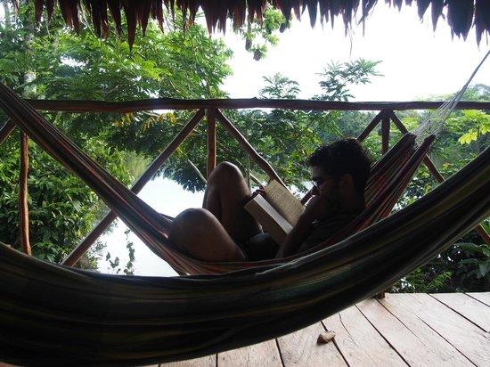 Abundancia Amazon Eco Lodge : great way to spend an afternoon