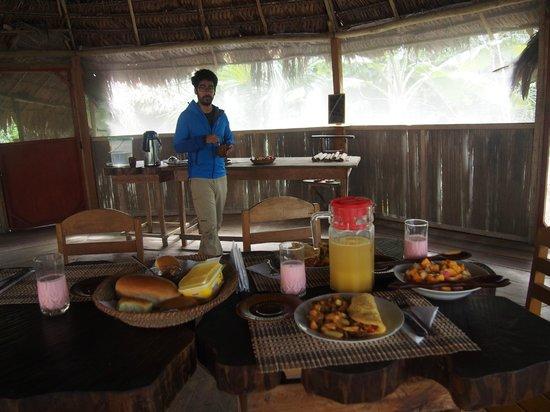 Abundancia Amazon Eco Lodge : breakfast