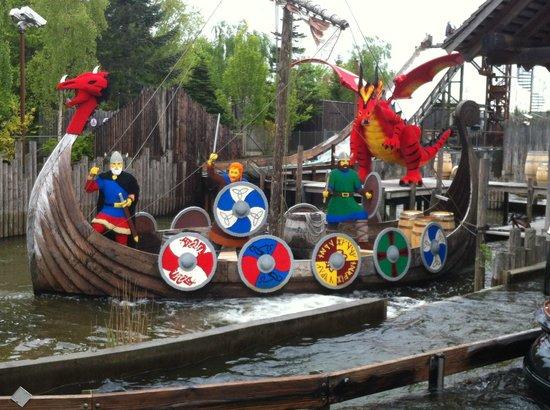 Legoland Billund: vichinghi