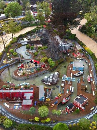 Legoland Billund: legoland dall'alto