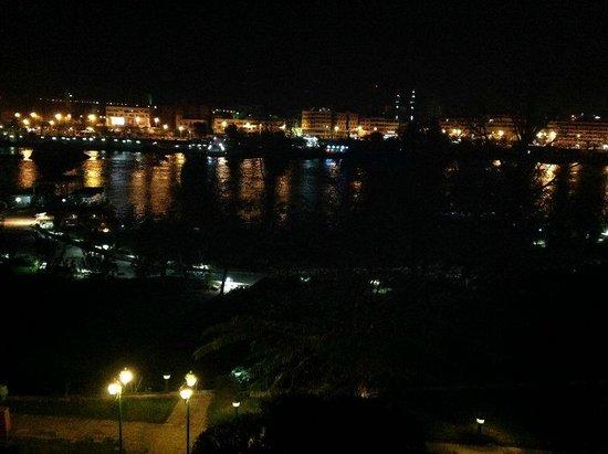 Movenpick Resort Aswan : vista do meu quarto