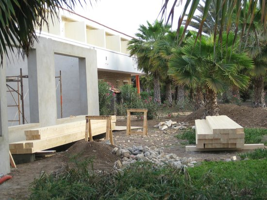 Crioula Club Hotel & Resort: cantiere